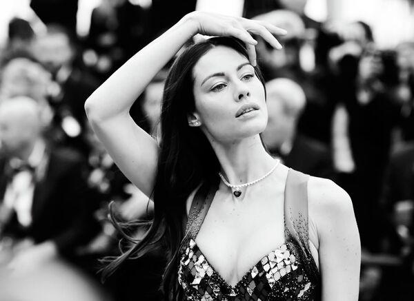Актриса Марика Пеллегринелли на красной дорожке в рамках 72-го Каннского международного кинофестиваля