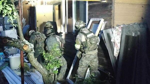 Во Владимирской области ликвидировали двух боевиков: кадры спецоперации