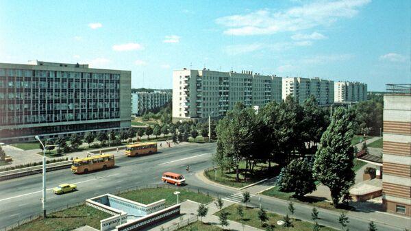 Вид центра города Ставрополя
