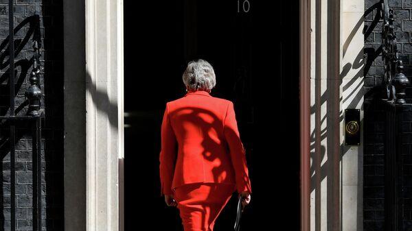 Премьер-министр Великобритании Тереза Мэй в Лондоне. 24 мая 2019