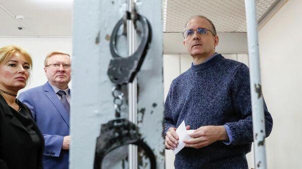 Гражданин США Пол Уилан, обвиняемый в шпионаже против России, в Лефортовском суде Москвы