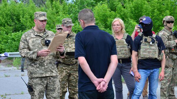 Передача со стороны ЛНР Киеву лиц, осужденных до 2014 года и выразивших желание отбывать наказание на подконтрольной Киеву территории