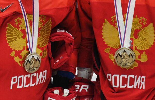 Бронзовые медали чемпионата мира по хоккею