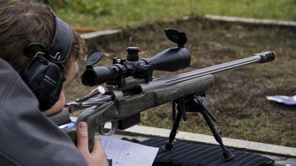 Испытания стрелкового оружия на базе госкорпорации Ростех
