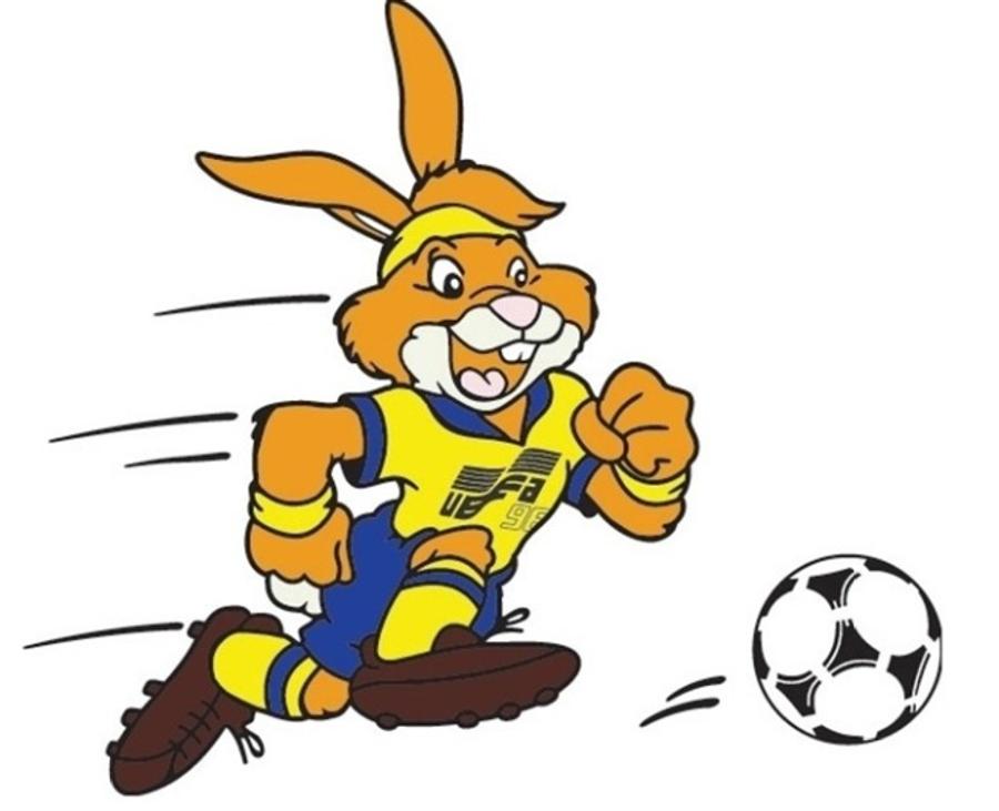 Талисман Евро-1992 кролик