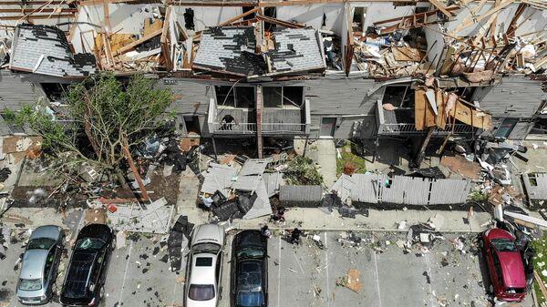 Последствия торнадо в американском штате Огайо. 28 мая 2019