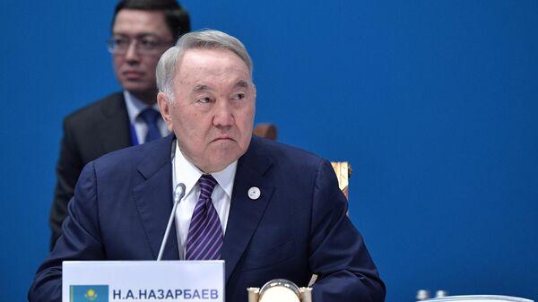 Нурсултан Назарбаев на заседании Высшего евразийского экономического совета. 29 мая 2019