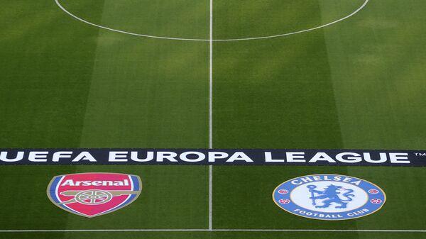 Стадион в Баку перед финальным матчем Лиги Европы