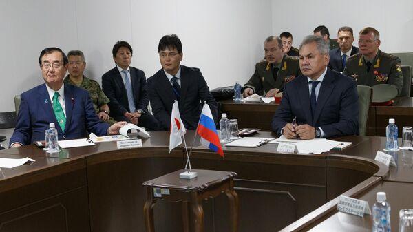 Министр обороны Российской Федерации Серегей Шойгу во время визита Японию. 30 мая 2019