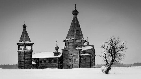 храм Иоанна Златоуста (1665 год) - село Саунино