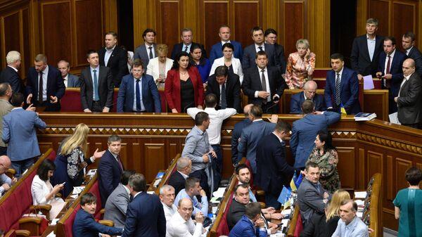 В Раде зарегистрировали представления на увольнение Луценко и Климкина