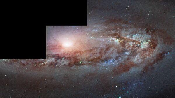 Галактика М 90 в созвездии Девы