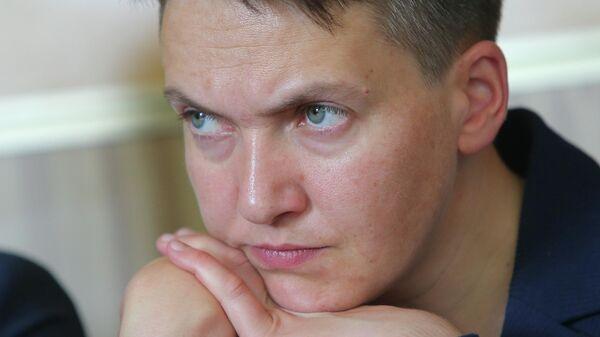Надежда Савченко в Броварском районном суде