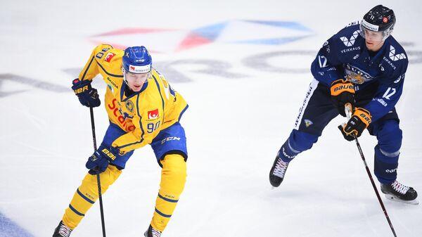 Хоккей. Кубок Первого канала. Матч Финляндия - Швеция