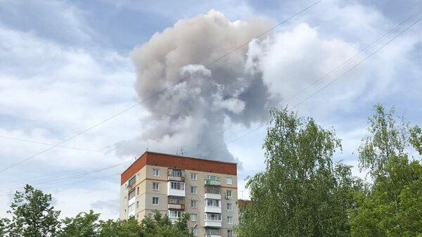 Взрыв на оборонном заводе Кристал в Дзержинске. 1 июня 2019