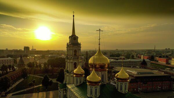 Успенский собор на территории Тульского кремля