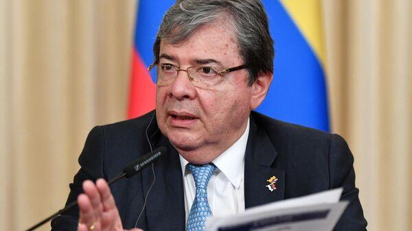 Министр обороны Колумбии Карлос Ольмес Трухильо