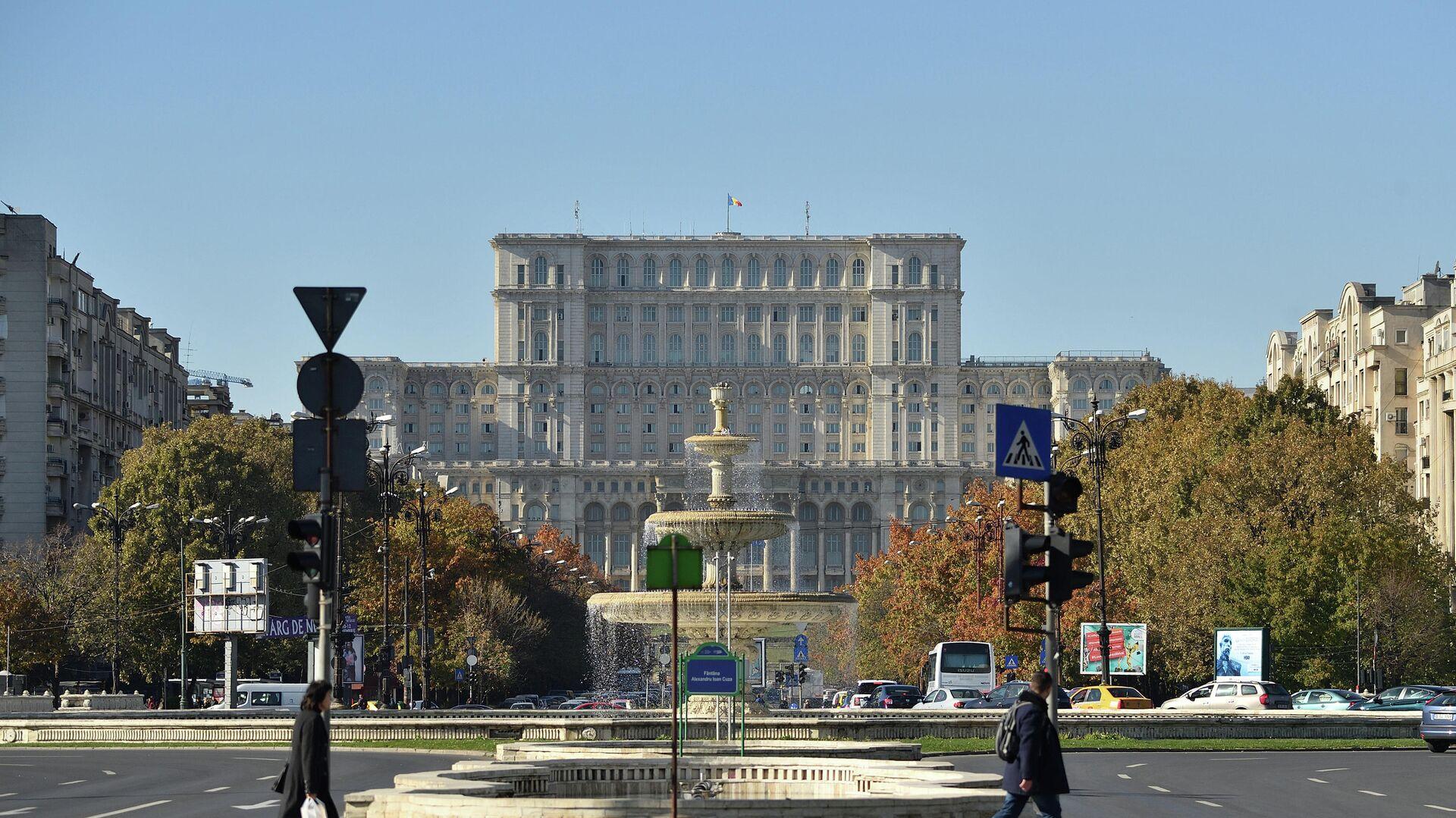 Дворец Парламента в Бухаресте - РИА Новости, 1920, 04.06.2019