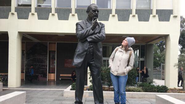 Е. Лавренюк в Университете Монаша, Мельбурн