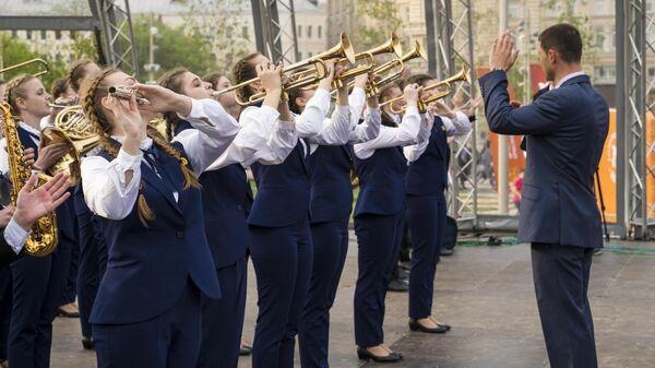 Известны лауреаты III Смотра-конкурса детских духовых оркестров ЦФО РФ