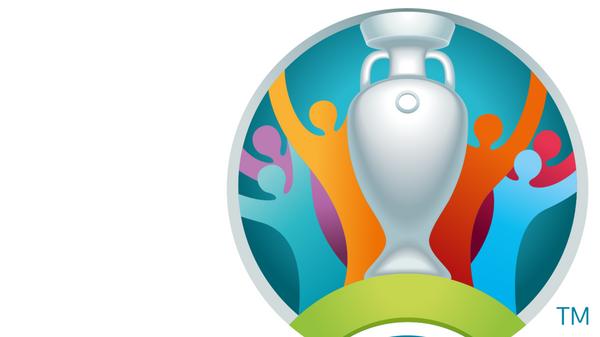 Логотип чемпионата Европы по футболу 2020 года