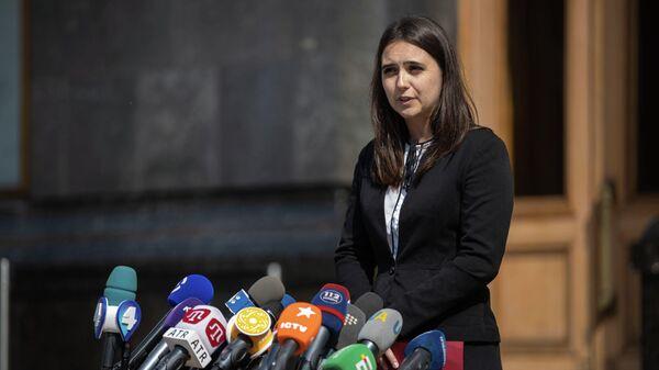Пресс-секретарь президента Украины Юлия Мендель
