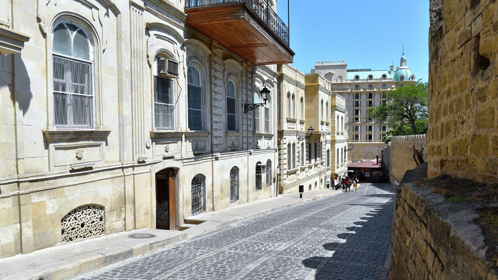 Улица Кичик Гала в Баку - РИА Новости, 1920, 04.06.2019