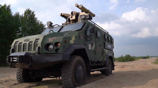 Украинско-турецкий боевой модуль Serdar