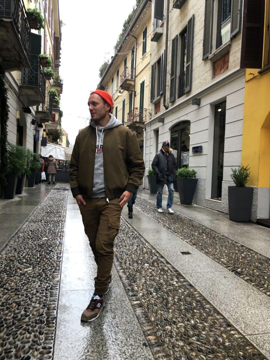 Тимур Соловьев в Милане