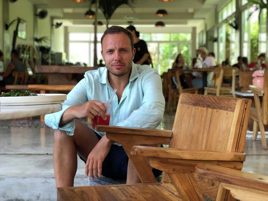 Тимур Соловьев на Бали