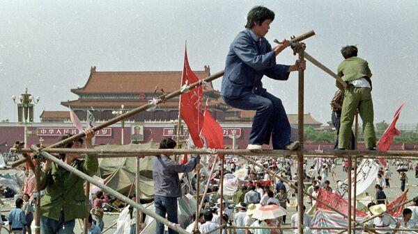 Протесты на площади Тяньаньмэнь в Пекине в 1989 году