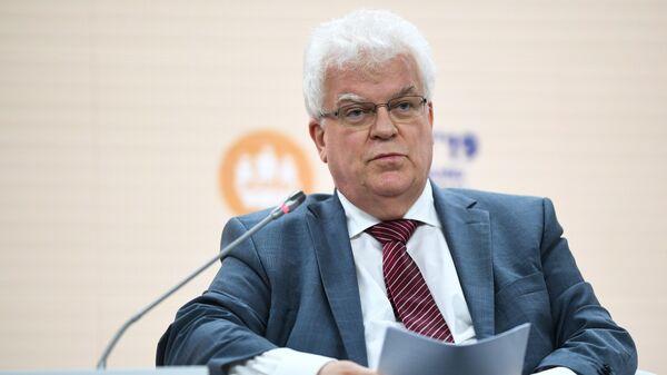 Постоянный представитель РФ при Европейском союзе Владимир Чижов на сессии Новая Европа: чего ждать России? в рамках Петербургского международного экономического форума 2019
