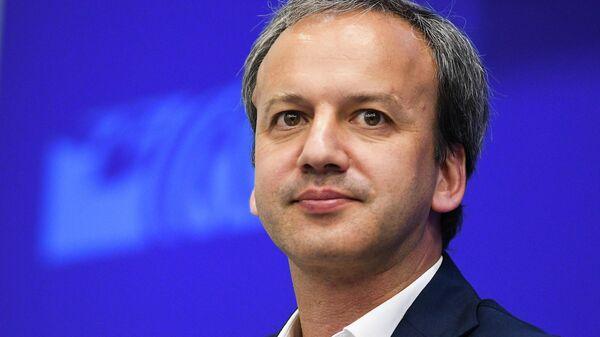Председатель Международной федерации шахмат (FIDE), сопредседатель фонда Сколково Аркадий Дворкович