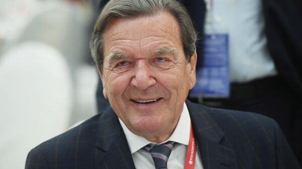 Председатель комитета акционеров Nord Stream 2 Герхард Шредер