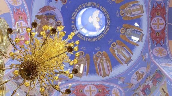 храм Ксении Блаженной в Петербурге, свод