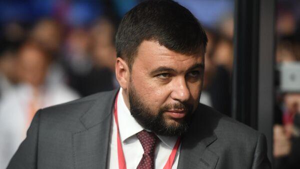 Глава ДНР Денис Пушилин на Петербургском международном экономическом форуме 2019 ПМЭФ-2019
