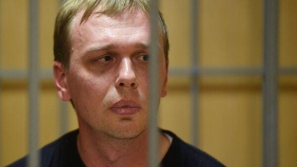 Избрание меры пресечения журналисту  И. Голунову