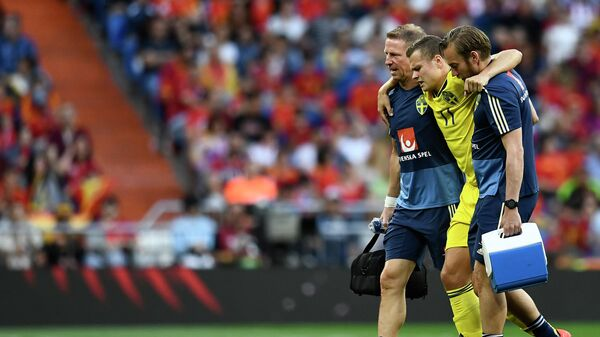 Полузащитник сборной Швеции Виктор Классон