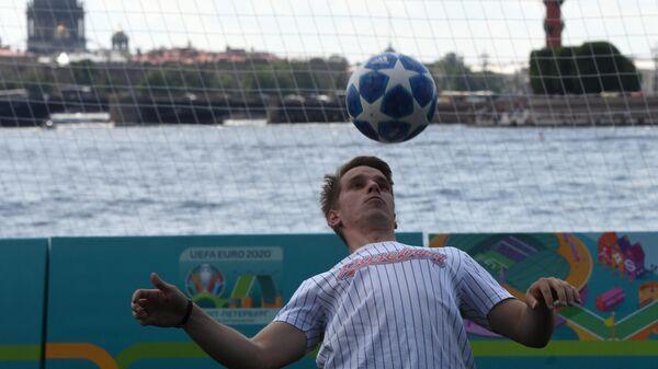 Парк футбола Евро-2020 в Санкт-Петербурге