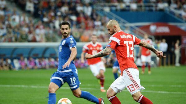 Футбол. Отборочный ЧЕ-2020. Матч Россия - Кипр