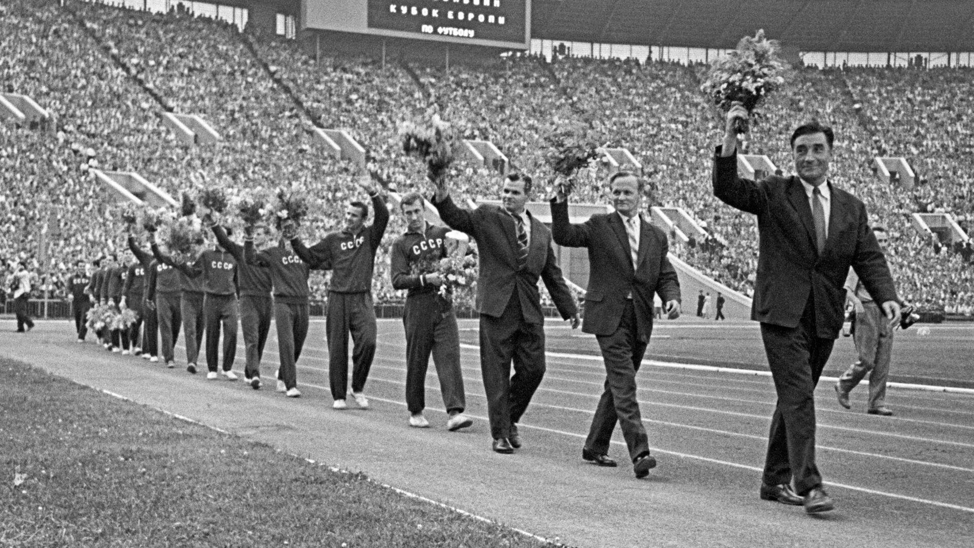 Сборная команда СССР - РИА Новости, 1920, 10.07.2020