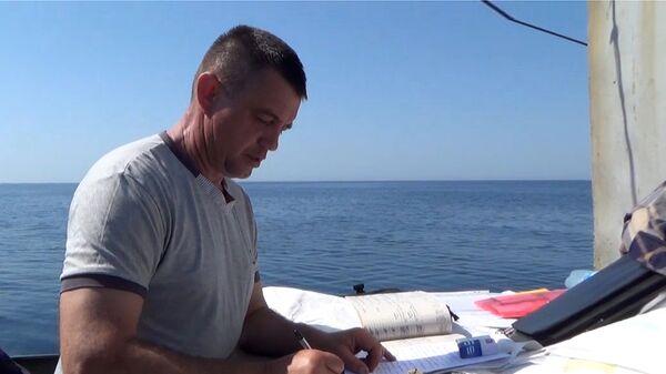 Капитан украинского рыболовецкого судна ЯМК-0041 Виктор Новицкий, задержанного ФСБ РФ в акватории Черного моря. 16 мая 2018