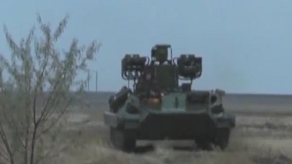 Новую модификацию зенитного ракетного комплекса Сосна показали на видео