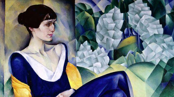 Репродукция картины художника Натана Альтмана Портрет Анны Ахматовой