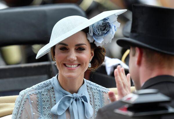Кэтрин, герцогиня Кембриджская на ежегодных королевских скачках в Аскоте