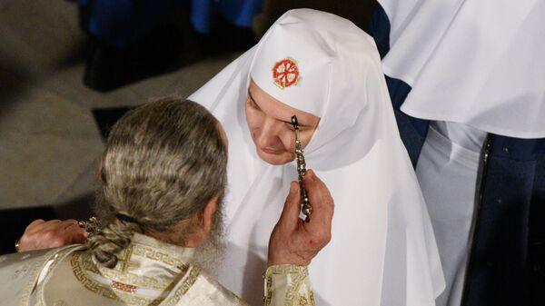 Богослужение в Киево-Печерской лавре