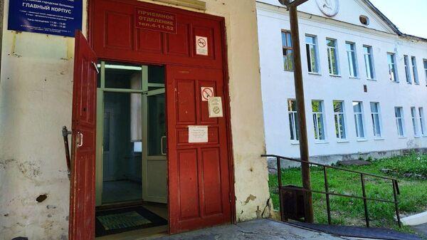 Главный корпус больницы в Струнино