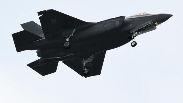 Истребитель F-35 Военно-воздушных сил Японии