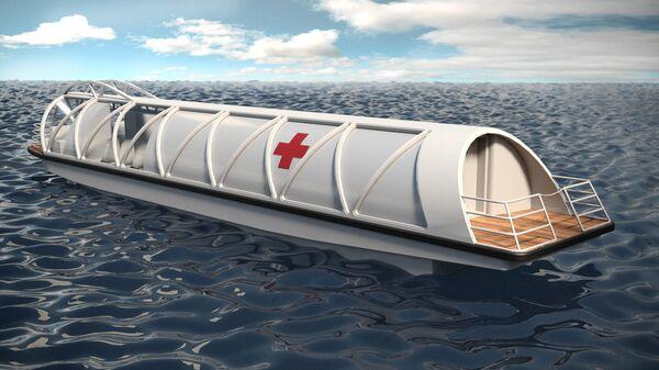 Разработанный ОСК проект медицинского судна Соталия
