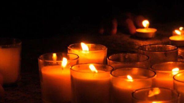 Акция «Свеча памяти» в Вашингтоне